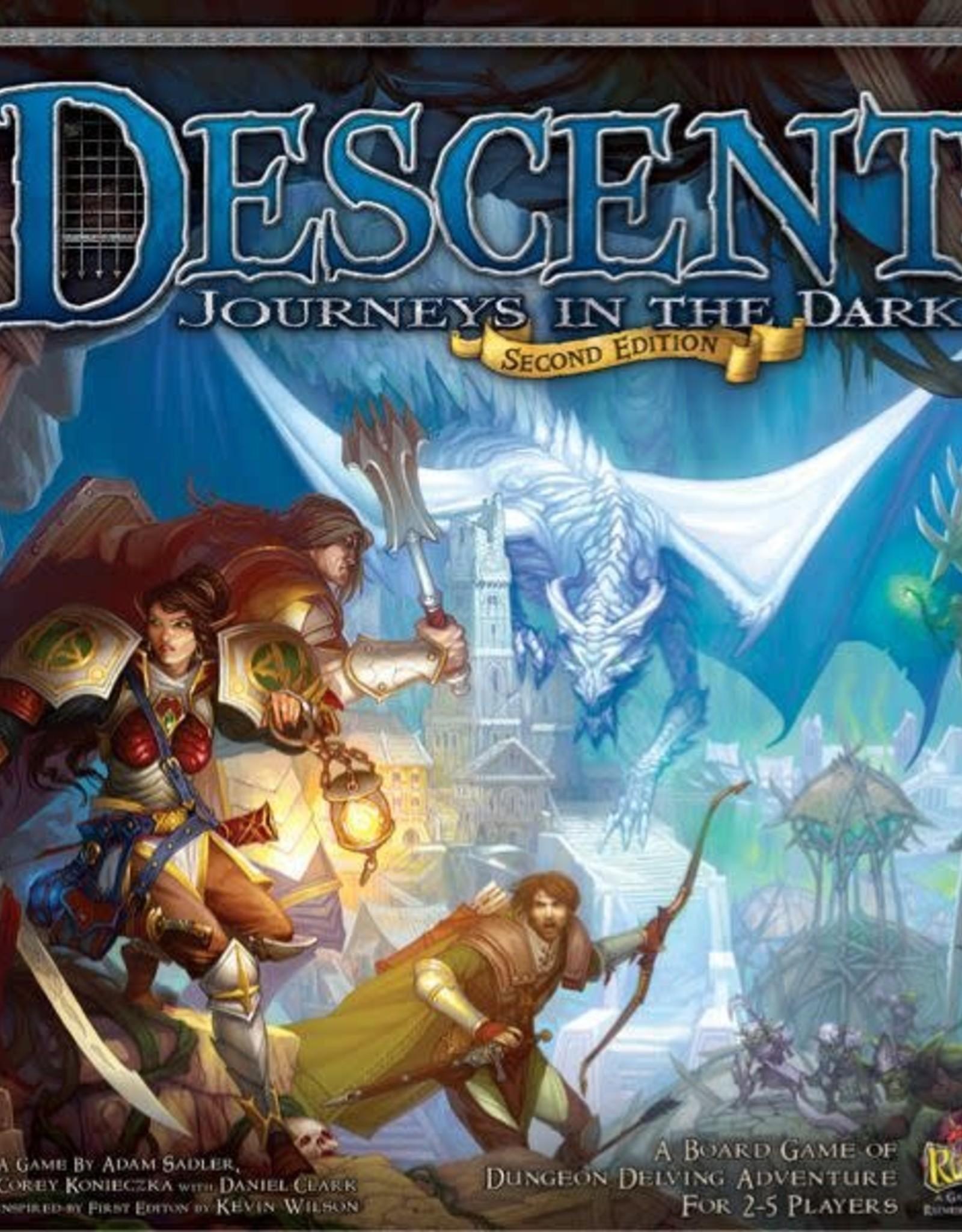 Fantasy Flight Games Descent Journeys in the Dark 2nd Ed