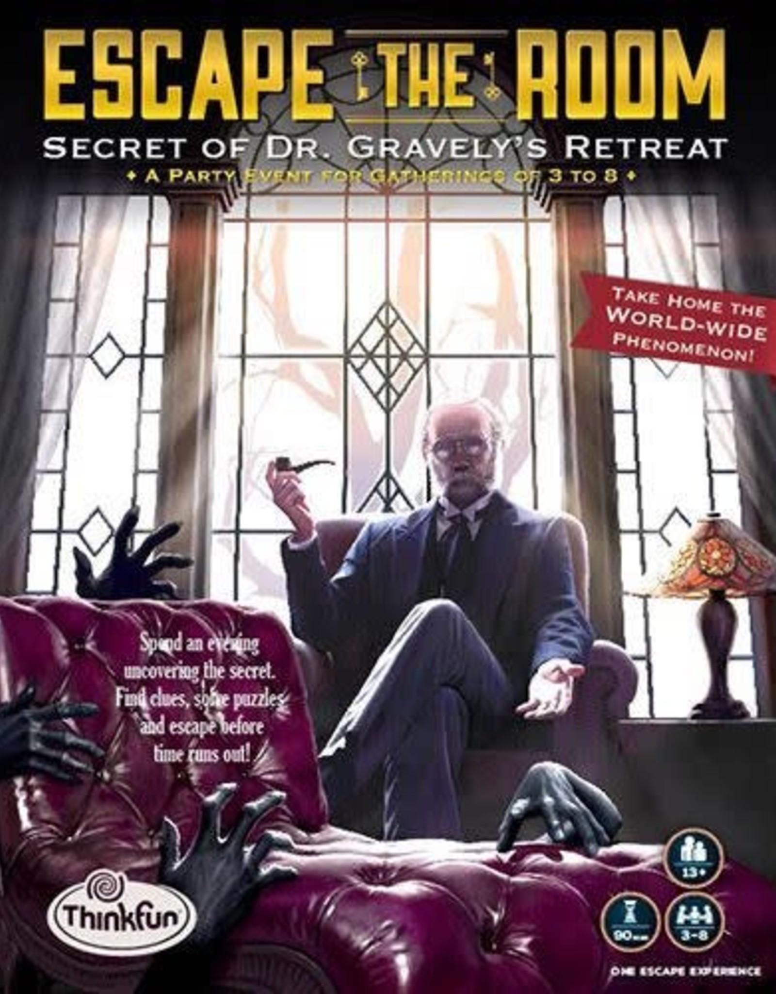 ThinkFun Escape the Room: Dr. Gravely's Retreat