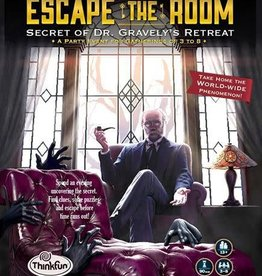 ThinkFun Escape the Room: Dr. Gravely's Retreat