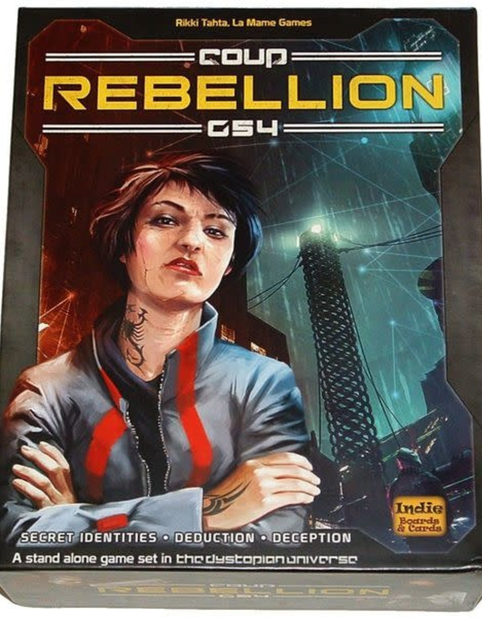 Indie Boards and Cards Coup: Rebellion
