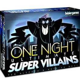 Bézier Games One Night Ultimate Super Villains