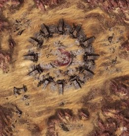 Fantasy Flight Games SW Legion: Desert Ruins Gamemat