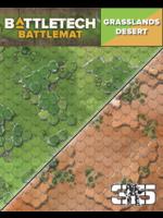 Catalyst BattleTech Battle Mat: Grasslands Desert