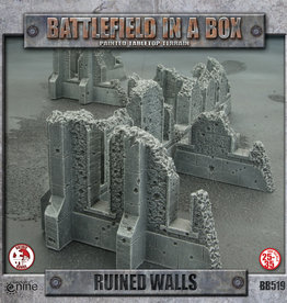 Gale Force 9 Battlefields in a Box Ruined Walls
