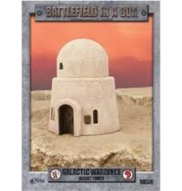 Gale Force 9 Battlefield in a Box Galactic Warzones Desert Tower