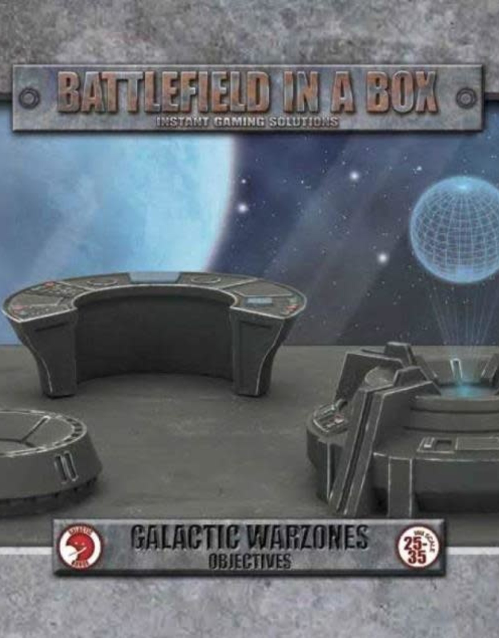 Gale Force 9 Battlefields in a Box Galactic Warzones Objectives