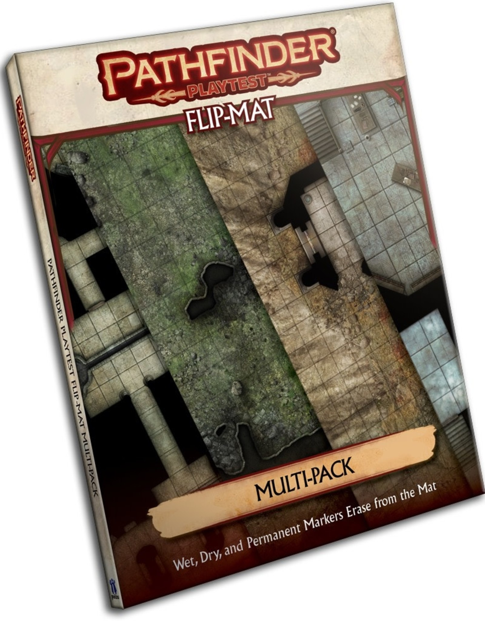 PAIZO Pathfinder Playtest Flip-Mat: Multi-Pack