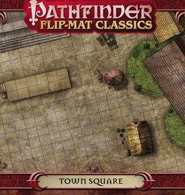 PAIZO Pathfinder Flip-Mat Classics: Town Square