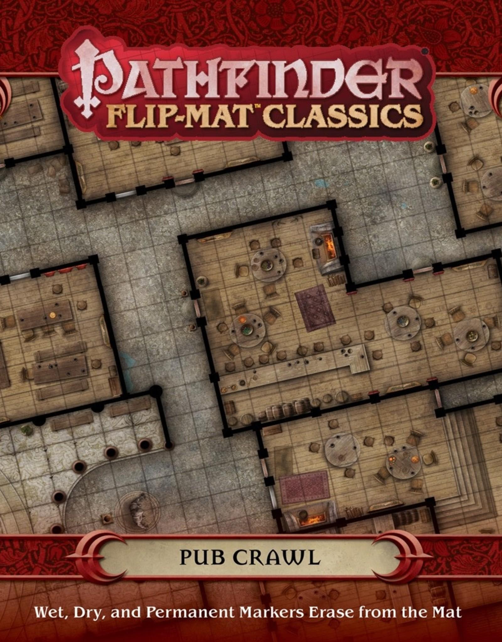 PAIZO Pathfinder Flip-Mat Classics: Pub Crawl
