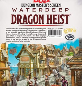 Gale Force 9 D&D 5th: DM Screen Waterdeep Dragon Heist