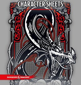Wizards of the Coast D&D 5th: Character Sheets