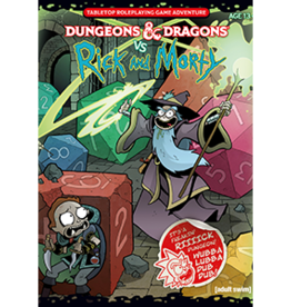 Wizards of the Coast D&D vs Rick and Morty