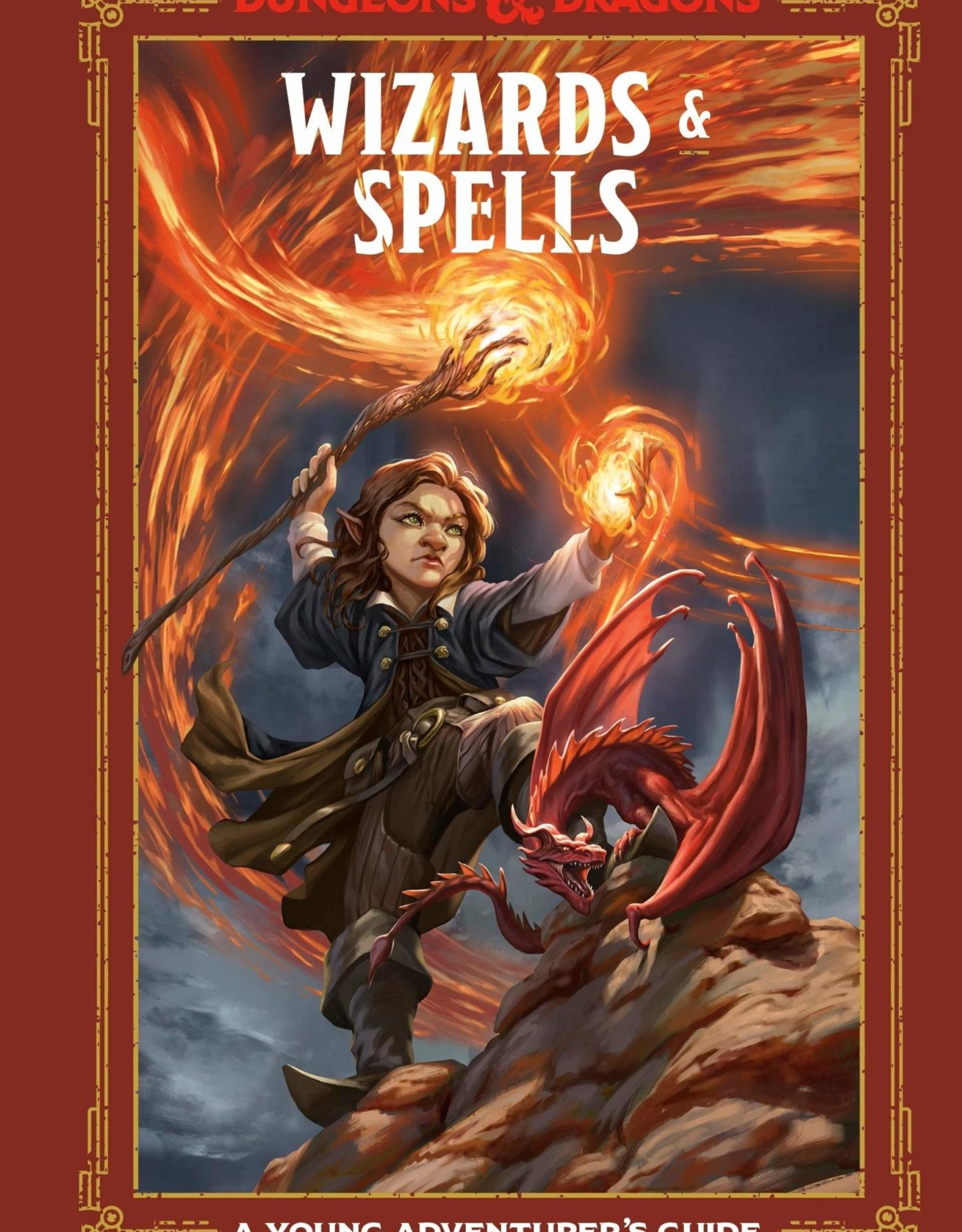 Wizards of the Coast D&D Young Adventurer's Guide: Wizards & Spells