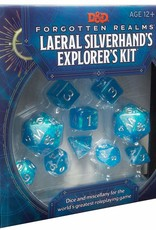 Wizards of the Coast D&D Laeral Silverhand's Explorer's Dice Kit