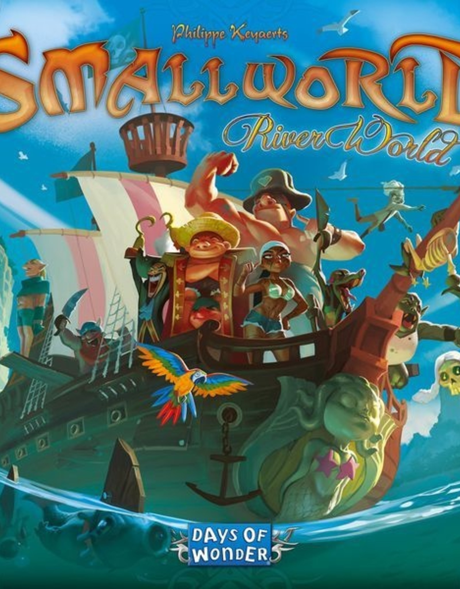 Days of Wonder Small World: River World