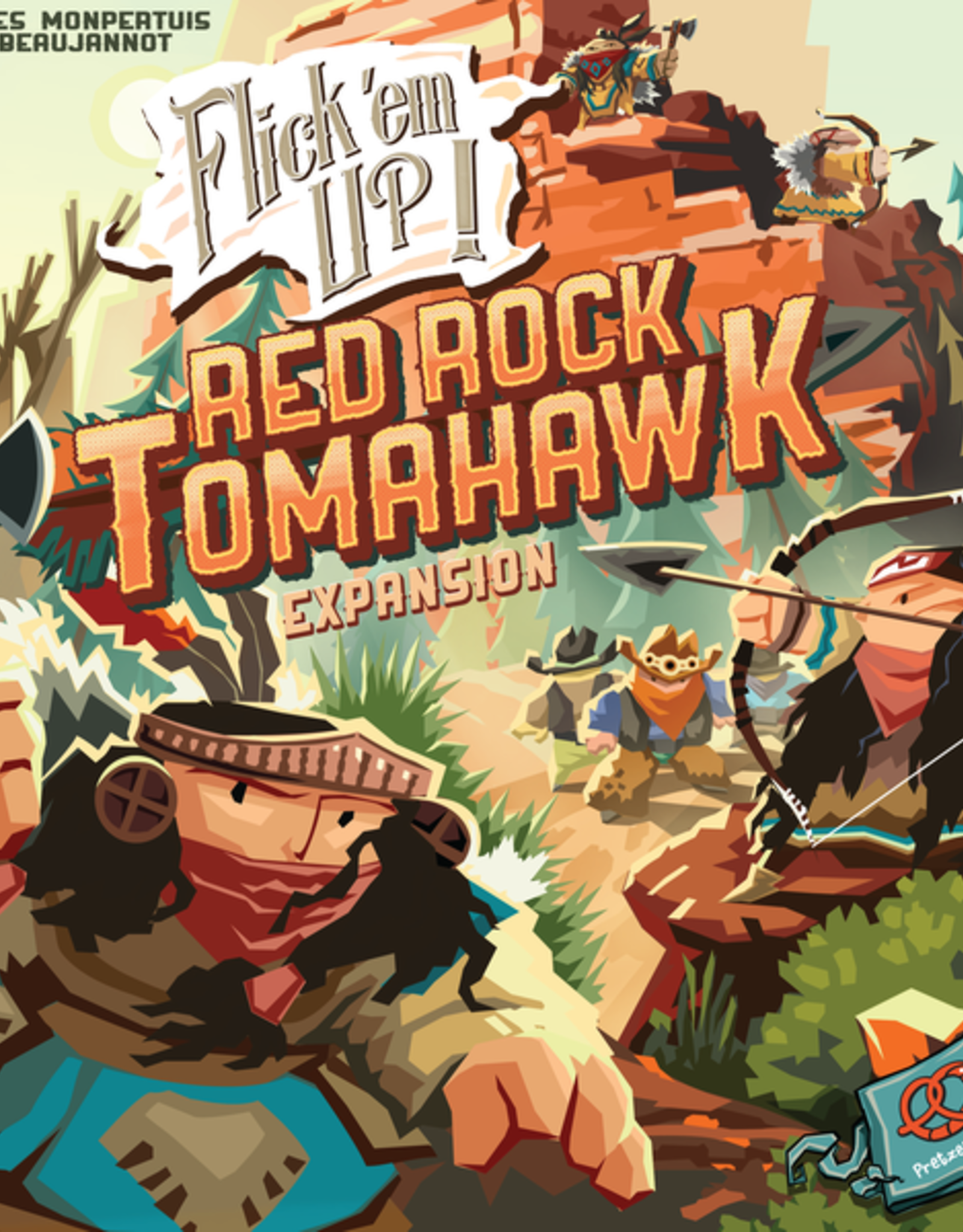 Pretzel Games Flick 'em Up: Red Rock Tomahawk