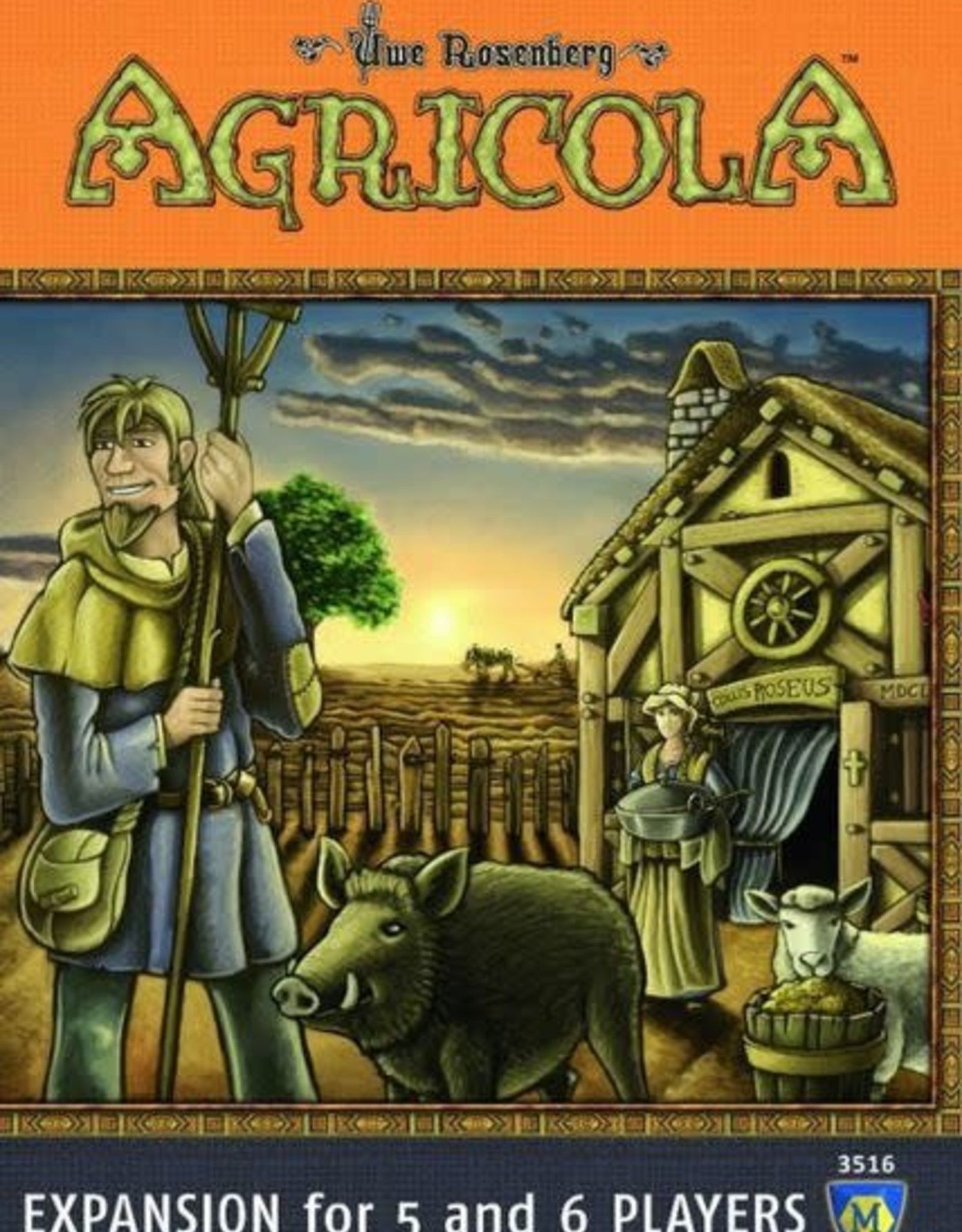 Lookout Games Agricola 5-6 Player Expansion