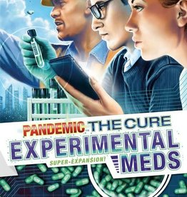 ZMan Games Pandemic The Cure: Experimental