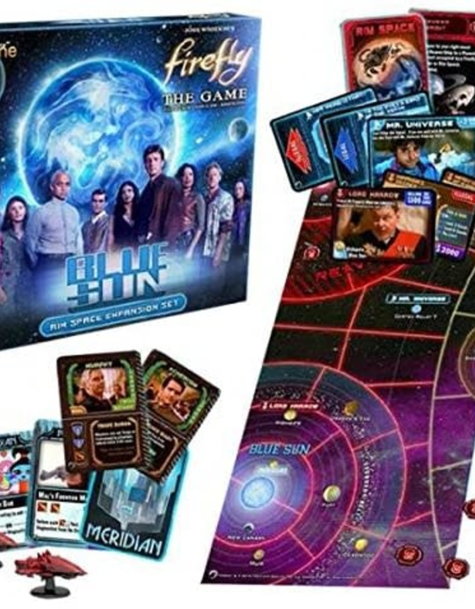 Gale Force 9 Firefly: Blue sun Expansion
