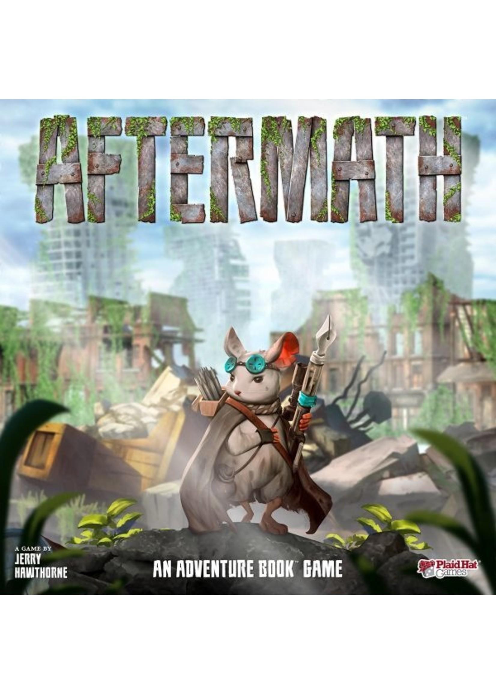 Z-Man Games Aftermath: An Adventure Book Game