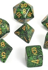 Chessex Speckled Poly 7 set: Golden Recon