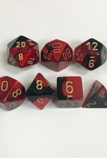 Chessex Black-Red/gold - CHX26433