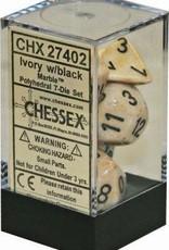 Chessex 7-setCubeMBL IVbk