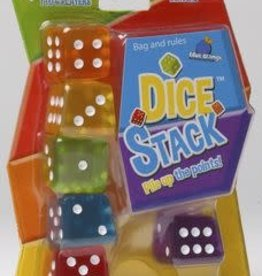 Blue Orange Dice Stack