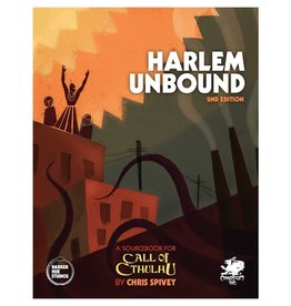 Chaosium Call of Cthulhu RPG Harlem Unbound 2nd Edition [Preorder]