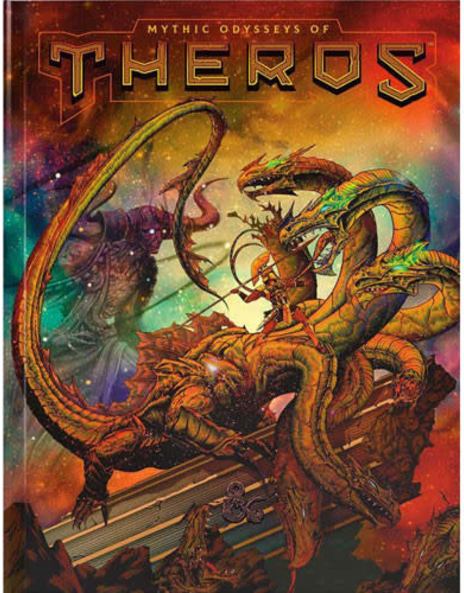 Wizards of the Coast D&D 5th: Mythic Odysseys of Theros (Alternate Cover)