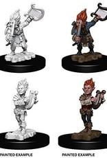 WizKids Deep Cuts Gnome Bard Male
