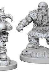 WizKids Deep Cuts Dwarf Barbarian Male