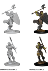 WizKids Deep Cuts Half-Orc Barbarian Female