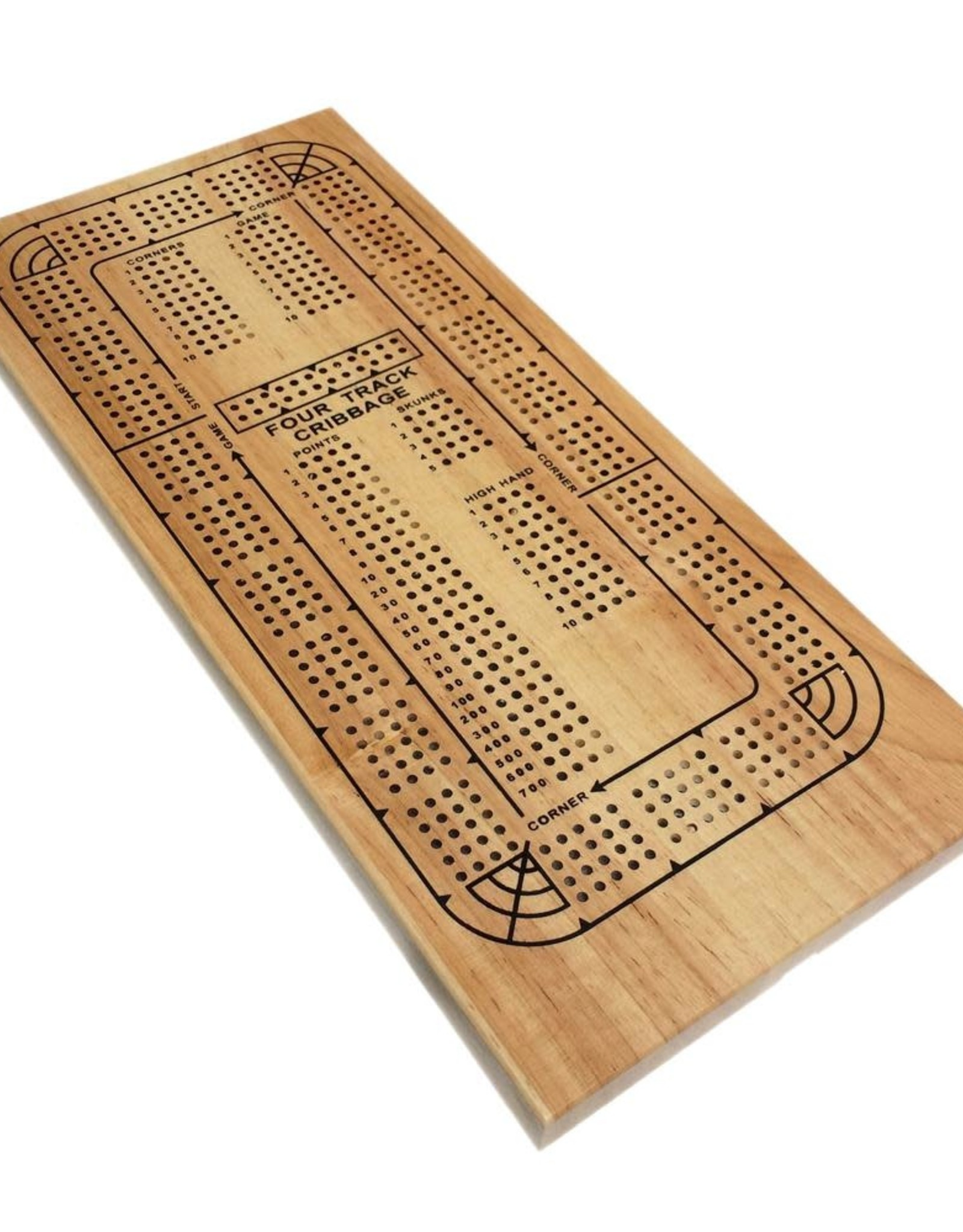 Wood Expressions Cribbage Board Colored
