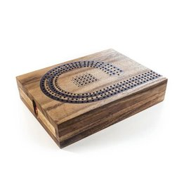 Wood Expressions Cribbage 4 Track Natural
