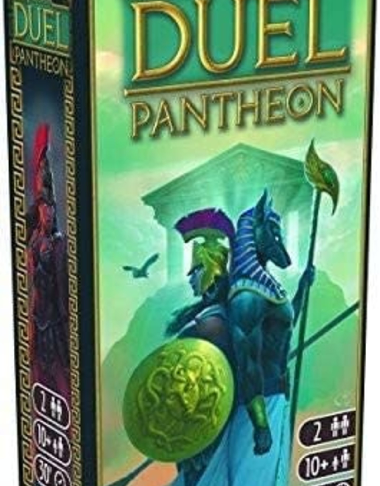 Repos Production 7 Wonders Duel: Pantheon Expansion
