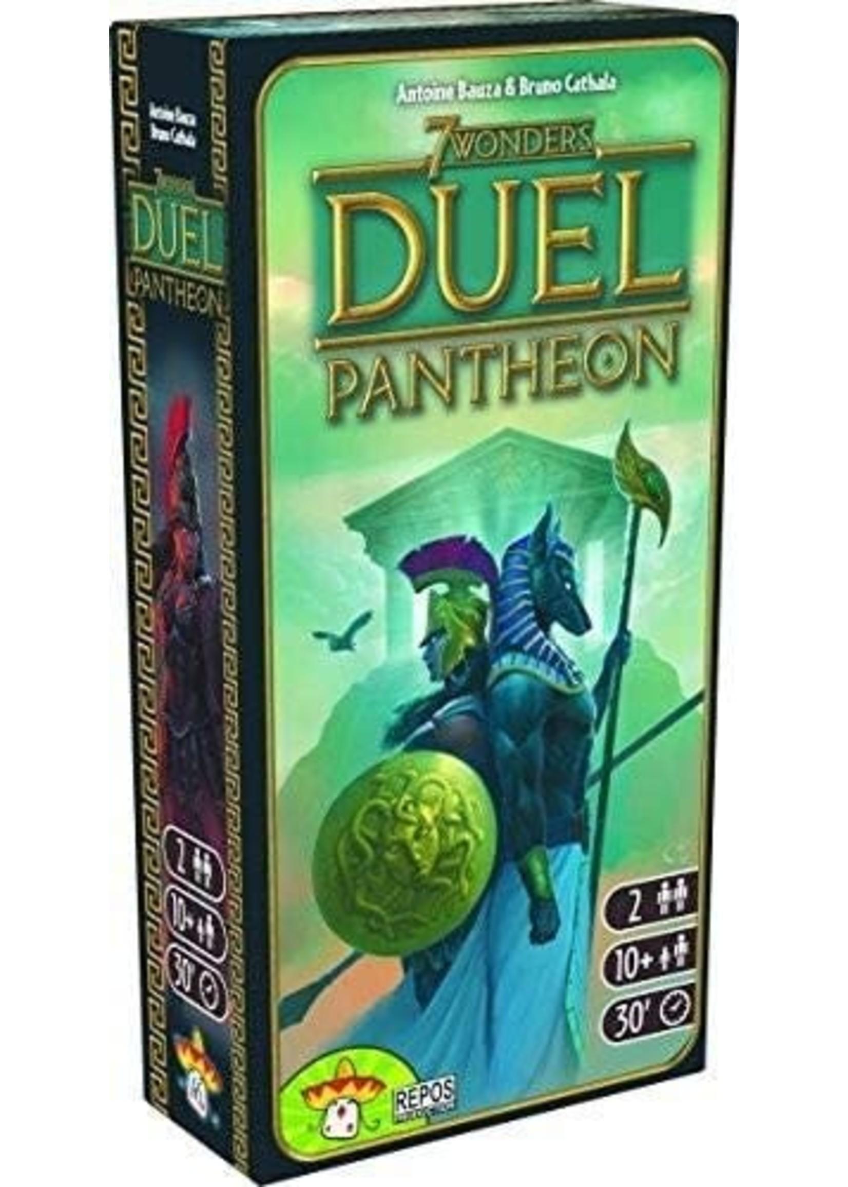Repos Production 7 Wonders Duel: Pantheon Expansion
