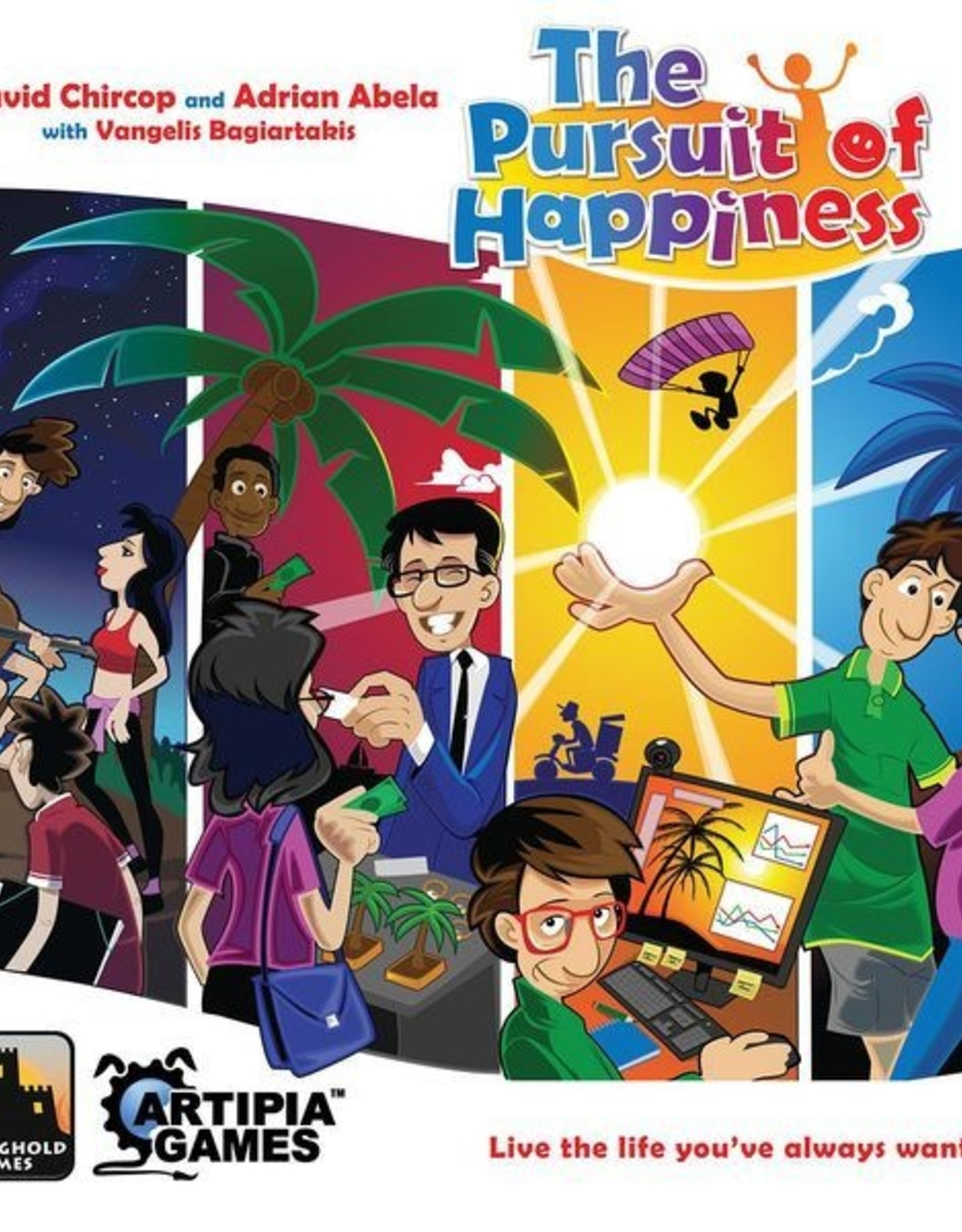 Stronghold Games The Pursuit of Happiness