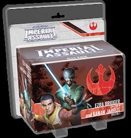 Fantasy Flight Games Star Wars Imperial Assault Ezra Bridger and Kanan Jarrus Ally Pack