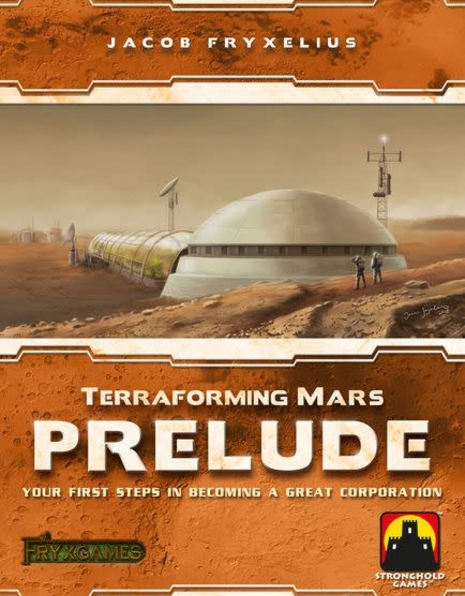 Stronghold Games Terraforming Mars Prelude