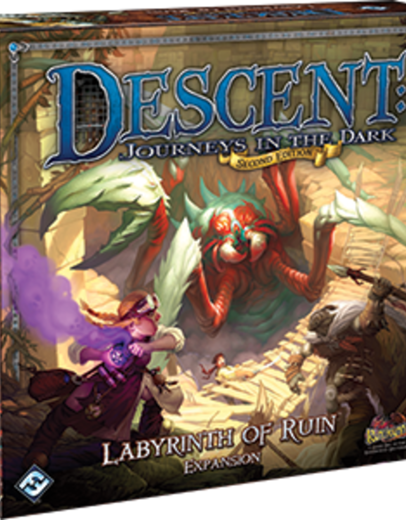 Fantasy Flight Games Descent 2nd Ed: The Labyrinth of Ruin