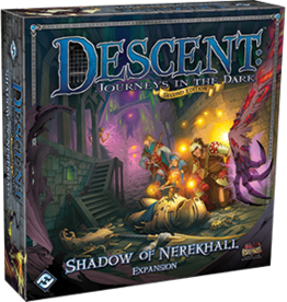 Fantasy Flight Games Descent 2nd Ed: Shadow of Nerekhall