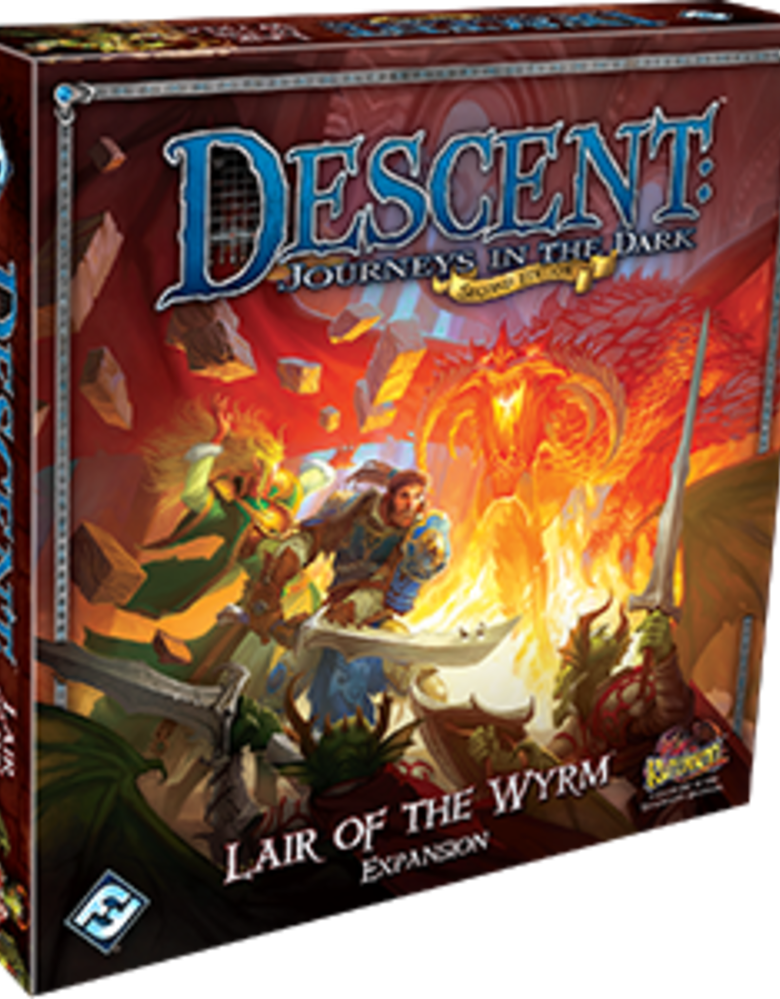 Fantasy Flight Games Descent 2nd Ed: Lair of the Wyrm