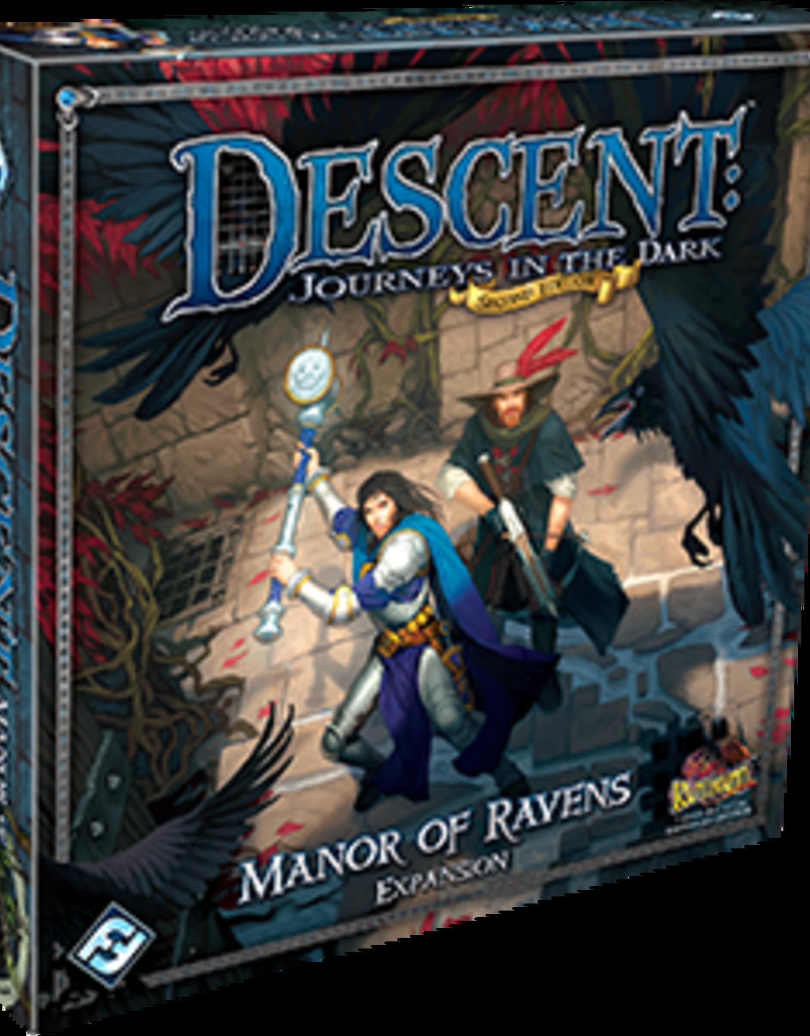 Fantasy Flight Games Descent 2nd Ed: Manor of Ravens