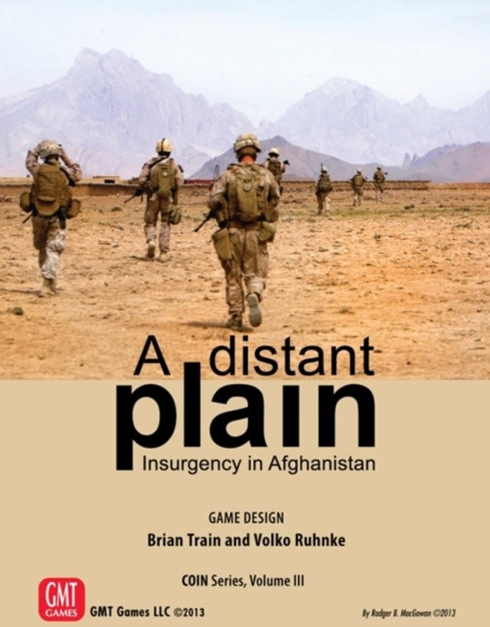 GMT A Distant Plain 3rd edition