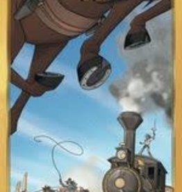 Ludonaute Colt Express Horses & Stagecoach