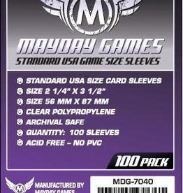Mayday Games Standard USA Size Card Sleeves