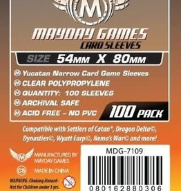 Mayday Games MDG Yucatan Narrow Card Sleeves 54mmx80mm