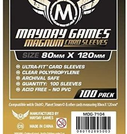 Mayday Games Mayday: 80x120mm clear