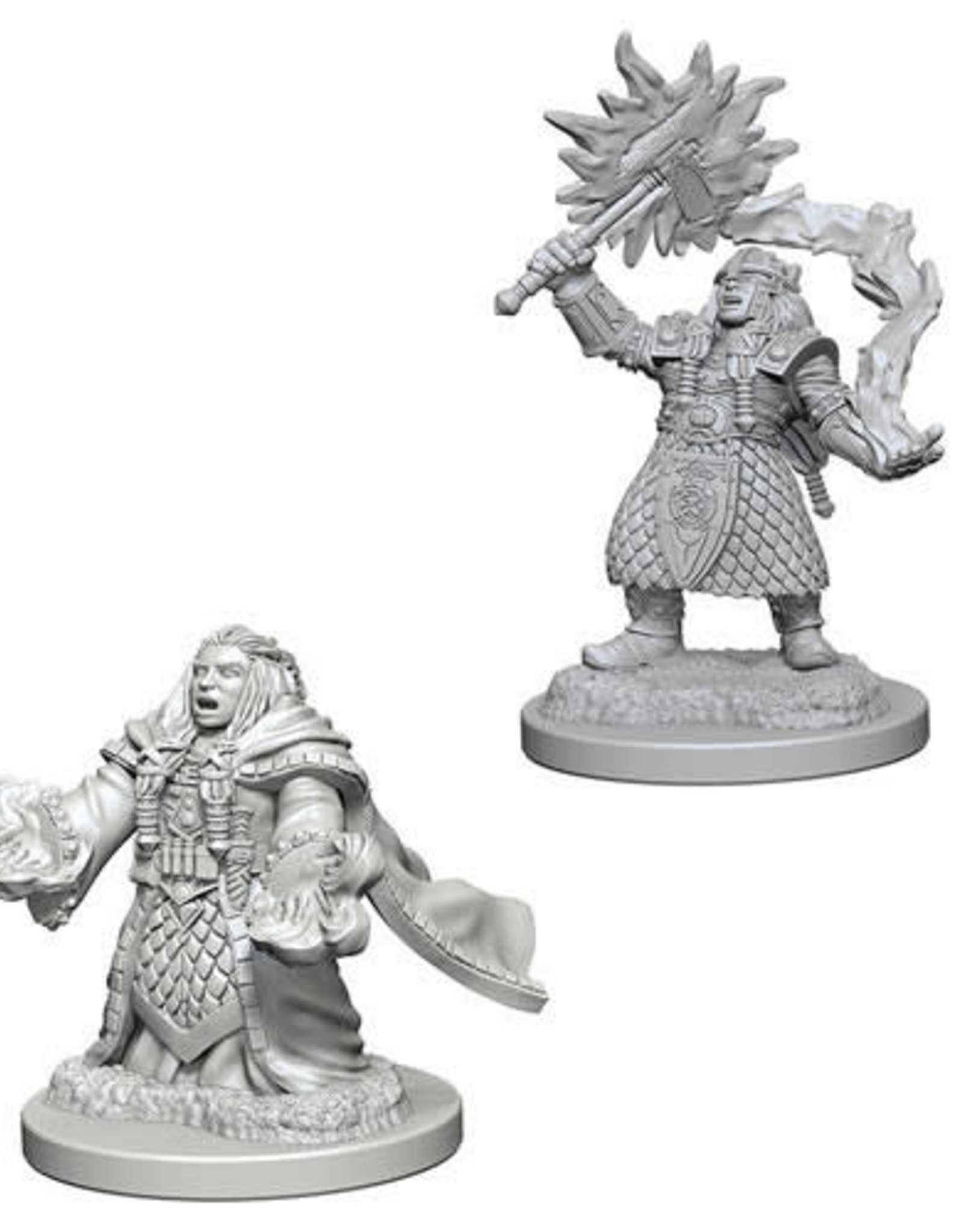 WizKids D&D Nolzur Dwarf Cleric (She/Her/They/Them)